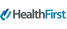 Health First revised logo linking to website